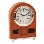 Leatherette Dome Clock -Rawhide Boss Gift Awards