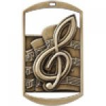 Dog Tag Medals -Music Music Trophy Awards