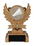 Victory Wing Resin Figure -Cheer Scholastic Trophy Awards