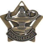 Star Series Medal Awards -Lamp of Knowledge Scholastic Trophy Awards