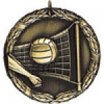 XR Medals -Volleyball  Volleyball Trophy Awards