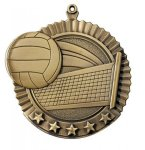Star Medals -Volleyball Volleyball Trophy Awards